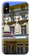 Historic 1920s Revived Lucas Theater IPhone Case