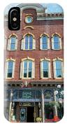 Historic Buildings Deadwood South Dakota IPhone Case