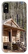 Historic Cabin IPhone Case