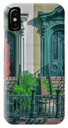 Historic Doors Of Charleston On Bull St IPhone Case