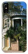 Historic Houses In A City, Charleston IPhone Case