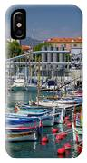 Historic Port Of Nice, France IPhone Case