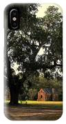 Historic Slave Houses At Boone Hall Plantation In Sc IPhone Case