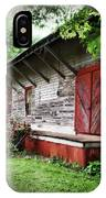 Historical Train Station In Belle Mina Alabama IPhone Case