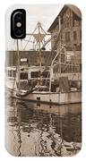 Historical Waterfront  IPhone Case