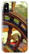 Hms Bounty Wheel IPhone Case