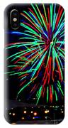 Hobart New Years Eve Fireworks IPhone Case