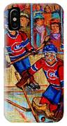 Hockey  Hero IPhone Case