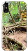 Hocking Hills Ohio Old Man's Gorge Trail IPhone Case
