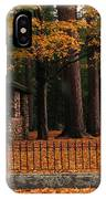 Holderness Cemetery IPhone Case