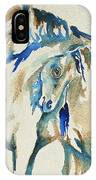 Holding On     War Ponies IPhone Case