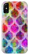 Holiday Colors - Christmas Pattern IPhone Case