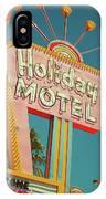 Holiday Motel, Las Vegas IPhone Case