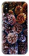 Holiday Pinecones #2 IPhone Case