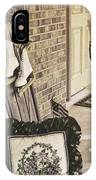 Holiday Porch IPhone Case