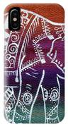 Holi's First Dance IPhone Case