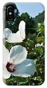 Hollyhock At Sunrise IPhone Case
