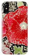 Hollyhock IPhone Case