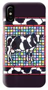 Holstein 3 IPhone Case