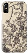 Holy Family With Putti IPhone Case
