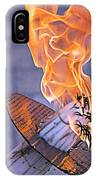 Holy Fire IPhone Case