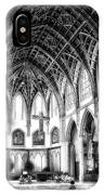 Holy Name Cathedral Chicago Bw 03 IPhone Case