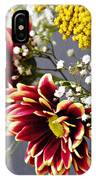 Holy Week Flowers 2017 5 IPhone Case