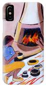 Home And Hearth In Taos IPhone Case