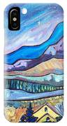 Home In The Hills IPhone Case