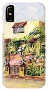 Home On Belmont Shore IPhone Case
