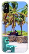 Home On The Beach IPhone Case