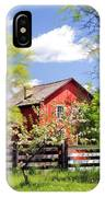 Homestead At Old World Wisconsin IPhone Case