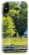 Small Farm Homestead IPhone Case