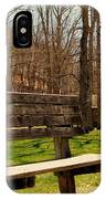 Hometown Series - Have A Seat IPhone Case