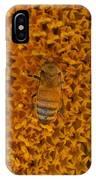Honey Bee On Sunflower IPhone Case