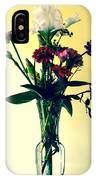 Honey Creek Flowers IPhone X Case