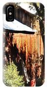Honey Run Covered Bridge IPhone Case
