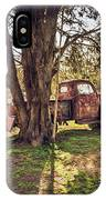 Honey, Under The Cedar Tree IPhone Case