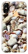 Honeymoon Island Shells IPhone Case