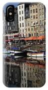 Honfleur Harbour France IPhone Case