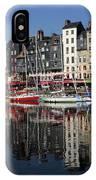 Honfleur Harbour, Normandy, France IPhone Case