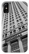 Honigman Fashion - Downtown Detroit IPhone Case