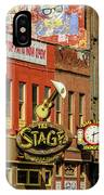 Honky Tonk Row - Nashville Tn IPhone Case