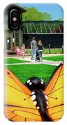 Honor Heights Butterfly House IPhone Case
