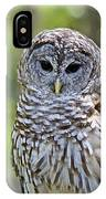 Hoo Are You IPhone Case