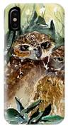 Hoo Is Looking At Me? IPhone Case