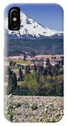 Hood River Orchards IPhone Case