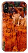 Hoodoos Bryce Canyon IPhone Case