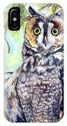 Hoo's There IPhone Case