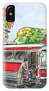 Hop On A Bus IPhone Case